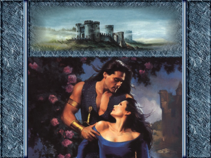 The Warrior's Damsel by Denise Hampton - Avon Historical Romance